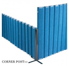 Angeles Corner Post for the Quiet Divider® with Sound Sponge®