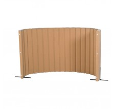 Angeles Quiet Divider® with Sound Sponge® 48″ x 10′ Wall – Natural Tan