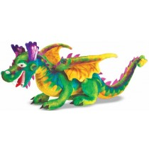 Melissa & Doug  	Dragon Plush Stuffed Animal