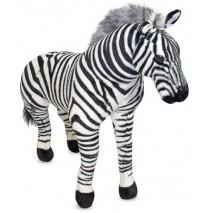 Melissa & Doug Zebra Plush Stuffed Animal