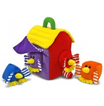 Melissa & Doug  	Bird House Shape Sorter