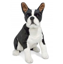 Melissa & Doug Boston Terrier - Plush Dog
