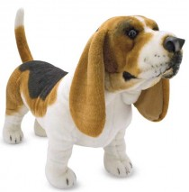 Basset Hound Plush Dog