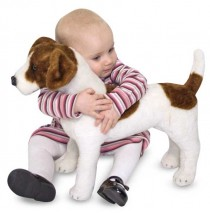 Melissa & Doug Jack Russell Terrier Plush Dog