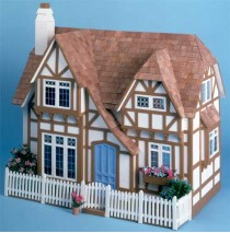 The Glencroft Dollhouse Kit by Greenleaf