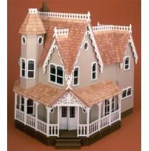 The Pierce Dollhouse Kit by Greenleaf