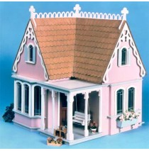 The Coventry Cottage Dollhouse Kit by Greenleaf
