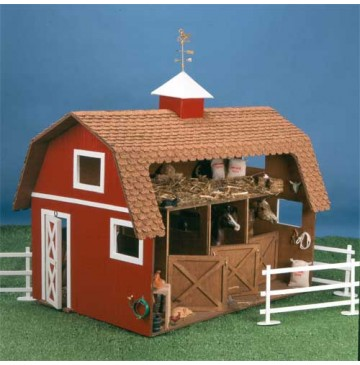 The Wildwood Stable Wooden Dollhouse Kit by Corona Concepts - 8602-Wildwood-Stable-360x365.jpg