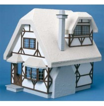 The Aster Cottage Dollhouse Kit by Corona Concepts