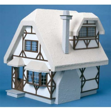 The Aster Cottage Dollhouse Kit by Corona Concepts - 9302-Aster-Cottage-Front-360x365.jpg
