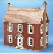 The Willow Wood Dollhouse Kit by Corona Concepts