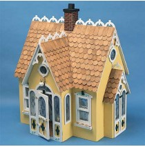 The Buttercup Wood Dollhouse Kit by Corona Concepts