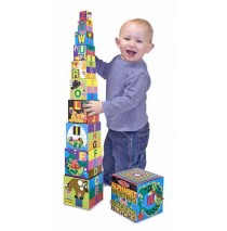 Alphabet Nesting and Stacking Blocks Melissa & Doug