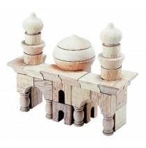 Arabian Block Set Table Top Building Blocks 42 Pcs by Guidecraft