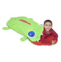 Melissa & Doug Augie the Alligator Kids Sleeping Bag