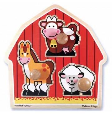 Barnyard Animals Jumbo Knob Puzzle Melissa & Doug - Barnyard-Animals-Knob-Puzzl-360x365.jpg