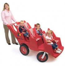"6 Passenger Never Flat ""Fat Tire"" Bye-Bye Buggy"