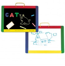 Melissa & Doug Magnetic Chalk Dry/Erase Board
