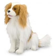 Melissa & Doug Cavalier King Charles Spaniel Plush Dog