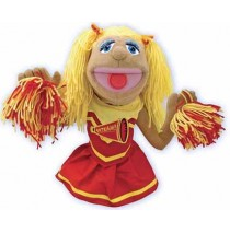 Melissa & Doug Hand Puppet - Cheerleader