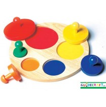 Circle Sorter Puzzle by Guidecraft