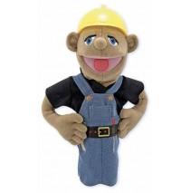 Melissa & Doug Hand Puppet - Construction Worker