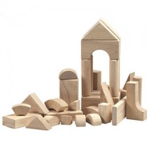 Hardwood 34 Piece Unit Block Set by Guidecraft