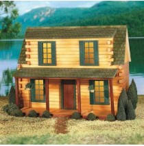 QuickBuild Adirondack Cabin by Real Good Toys