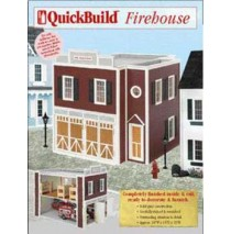QuickBuild Firehouse Dollhouse by Real Good Toys