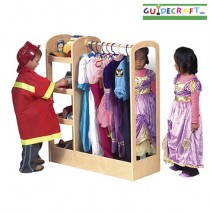 See and Store Dress Up Center-Natural