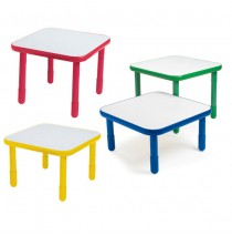 Angeles Baseline Square Table  - Choose Height & Trim