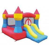 Castle Bounce and Slide Inflatable