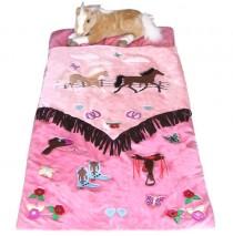 Carstens Cowgirl V Slumber Bag with Toys