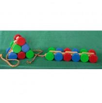 Flip Flop Pull Toy - Handmade Toy