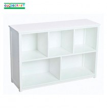 Classic White Bookshelf (Baskets Not Included)