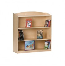 Guidecraft Single-Sided Bookcase - 36 H