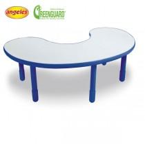 Angeles BaseLine Kidney Table - Blue