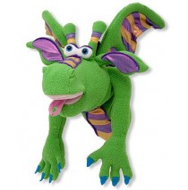 Smoulder the Dragon Hand Puppet Melissa & Doug